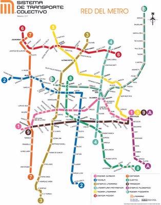 Anagramas del Metro de la ciudad de Mexico