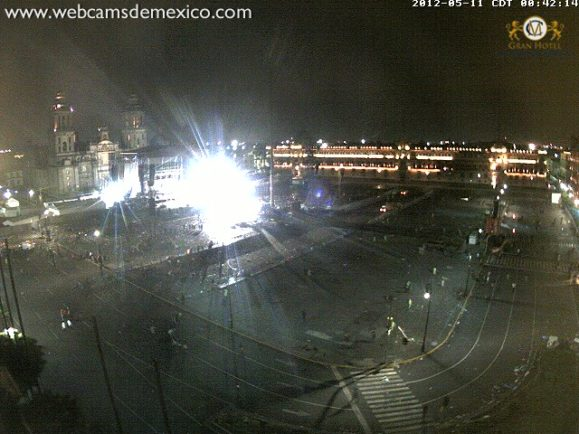 Zocalo Webcam