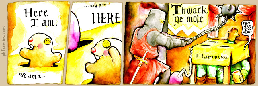 Perry Bible Fellowship 216 - Thwack Ye Mole