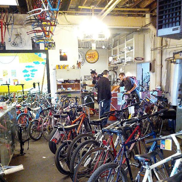 Sooooo many bikes