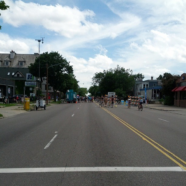 Looking down Lyndale #openstreets