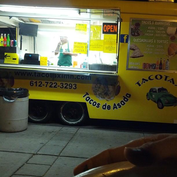 Taco taxi time