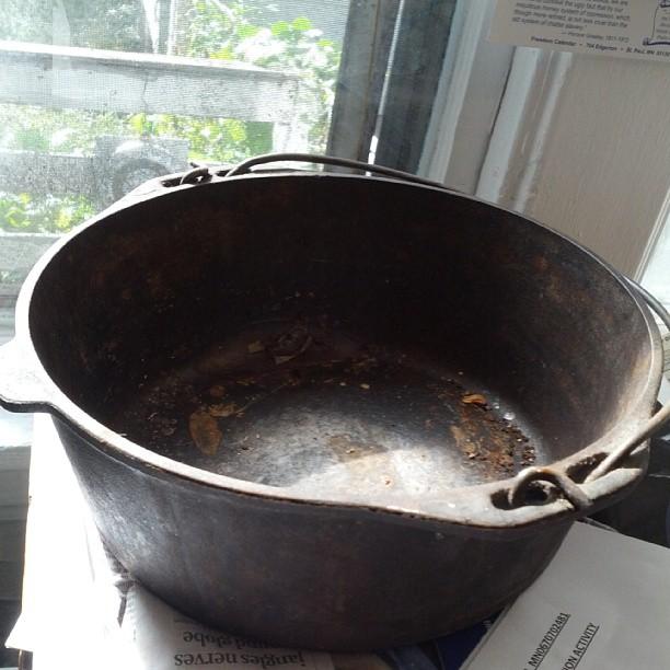 Got a pot now.