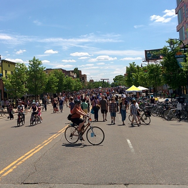 Much #OpenStreetsMPLS, very crowd