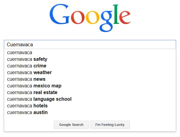 Cuernavaca google search
