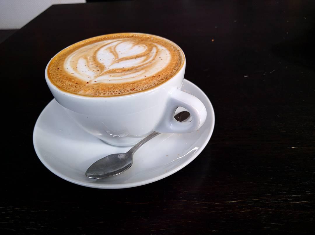La espuma del café