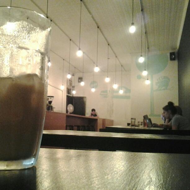 Ice cold chai