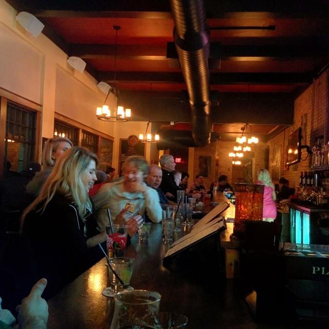 A snapshot at the bar