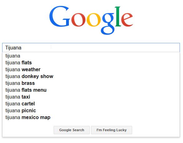 Tijuana google search