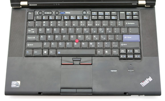Thinkpad W510 Keyboard